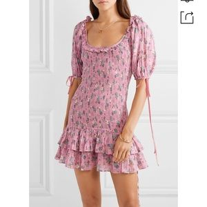 🔥🔥😍😍😍🔥🔥LOVESHACKFANCY sexy mini dress